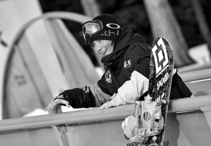 Kapličák na snowboardu