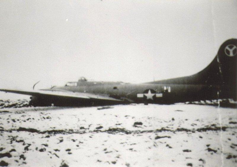 Tragédie letounu B-17G