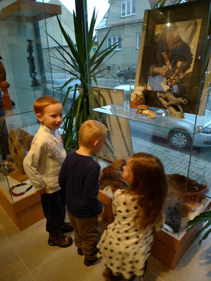 Výstava Petra Odložila potrvá do dubna