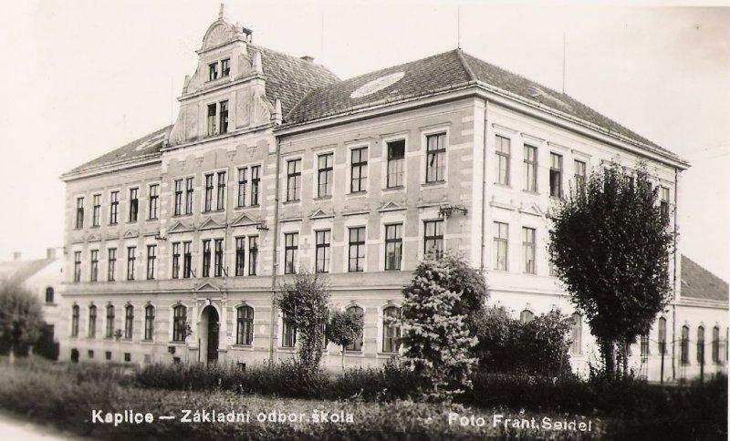 Měšťanská škola v Kaplici