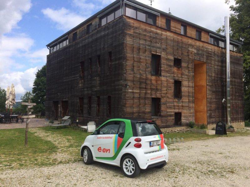 Testování elektromobilu