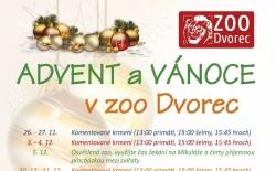 Advent a Vánoce v ZOO Dvorec