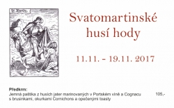 Svatomartinské husí hody na Svachovce