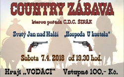 Country zábava ve Sv. Jánu
