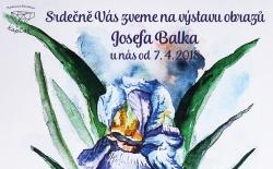 Výstava obrazů Josefa Balka
