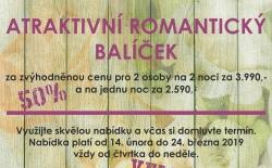 Svachovka - atraktivní romantický balíček