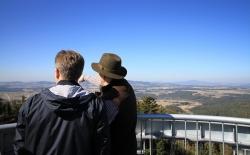 Rozhledna na Hradišťském vrchu je otevřena